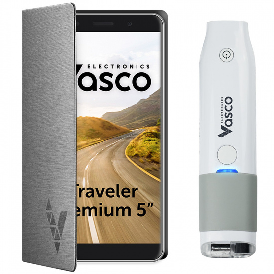 "Vasco Traveler Premium 5"" avec Scanner"
